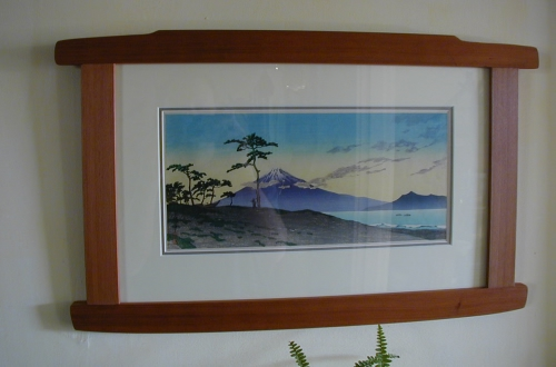 Hasui print in new frame